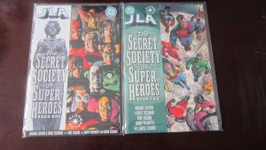 JLA Secret Society of Super Heroes #1 to #2 whole set - VF - 2000