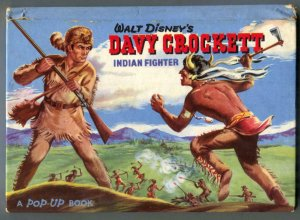 Walt Disney's Davy Crockett Indian Fighter Pop-up Book 1955