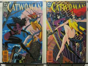 CATWOMAN (1993) 8-9  vs ZEPHYR ! COMICS BOOK