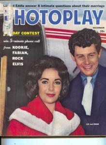 Photoplay-Liz Taylor-Eddie Fisher-Sandra Dee-Elvis-Dec-1959