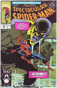 Spider-Man, Peter Parker Spectacular #178 (Sep-91) NM/NM- High-Grade Spider-Man