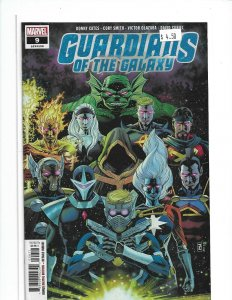 GUARDIANS OF THE GALAXY #9 MARVEL COMICS (2019) NW05