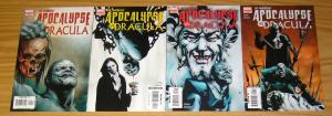 X-Men: Apocalypse vs Dracula #1-4 VF/NM complete series - jae lee covers 2 3 set