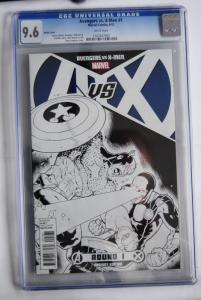 Avengers vs. X-Men 1 1:200 Ryan Stagman Sketch Cover