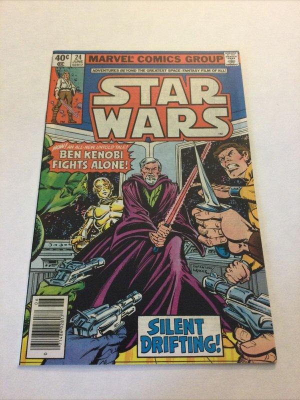 Star Wars 24 Nm Near Mint Newsstand Edition Marvel Comics