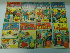Bronze Age Life with Archie lot 25 different issues 4.0 VG (1972-80)