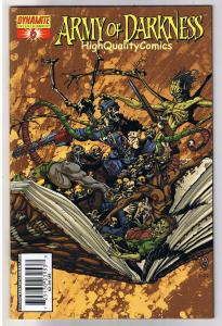 ARMY of DARKNESS #6, NM, Bradshaw, Chainsaw, Gun, 2005, more AOD in store