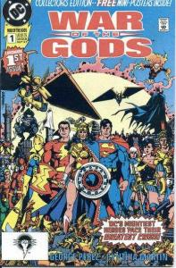 War of the Gods #1, VF (Stock photo)