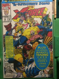 X-Force #16 X-cutioner's Song part 4 MISB