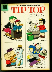 Tip Top Comics #211 1957- Nancy- Peanuts- Charles Schultz- VG+