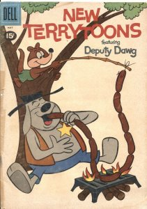 NEW TERRYTOONS #4 - 1961 - DELL - DEPUTY DAWG - GANDY GOOSE - LITTLE ROQUEFORT