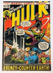 The Incredible Hulk #158 (Dec 1972, Marvel) VG/FN 5.0 Rhino appearance