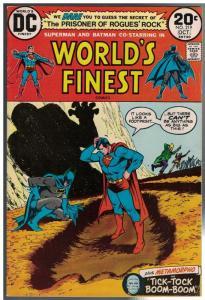 WORLDS FINEST 219 VG-F  Oct. 1973 COMICS BOOK