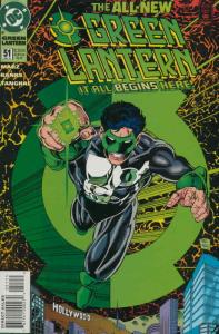 Green Lantern (3rd Series) #51 VF/NM; DC | save on shipping - details inside