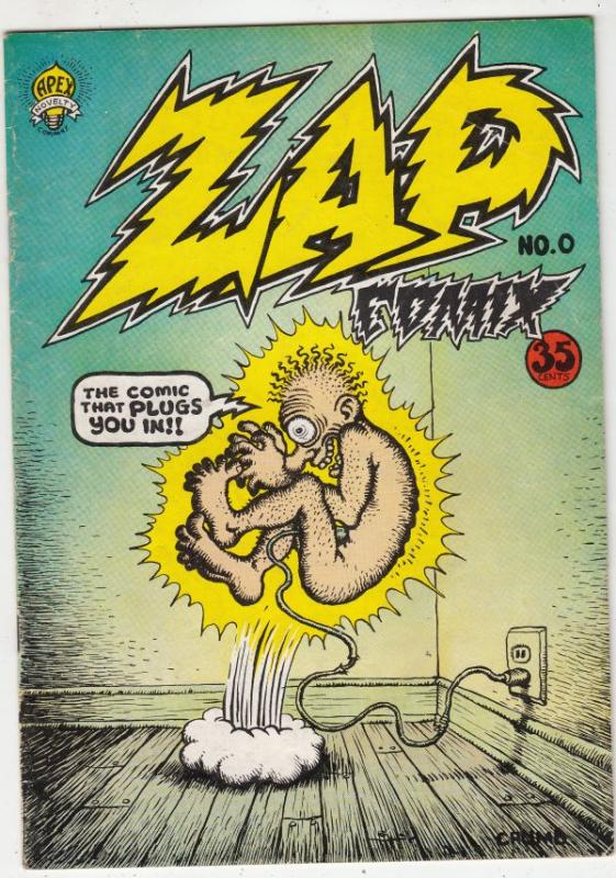 Zap #0 (Oct-67) FN+ Mid-High-Grade Whiteman, Mr. Natural, Itzy and Bitsy