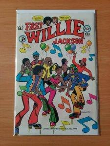 Fast Willie Jackson #1 ~ VERY FINE - NEAR MINT NM ~ 1976 Fitzgerald Periodicals
