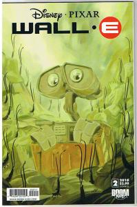 WALL-E #2 B, NM, Pixar, Disney, Boom Comics, 2009, more Disney in store