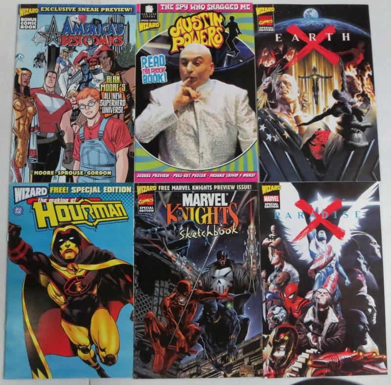 Wizard Special Edition - 5 Comics Books America's Best Austin Powers Earth X ++