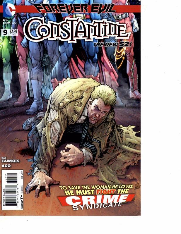 #11 2014 NM Stock Image DC Constantine