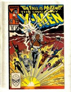 11 Uncanny X-Men Comic Books # 227 228 231 232 233 234 235 236 237 240 241 HY5