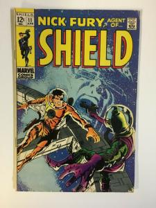 NICK FURY AGENT OF SHIELD 11 VG April 1969