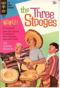 THREE STOOGES 42 F-VF photocover March 1969 Mexico COMICS BOOK