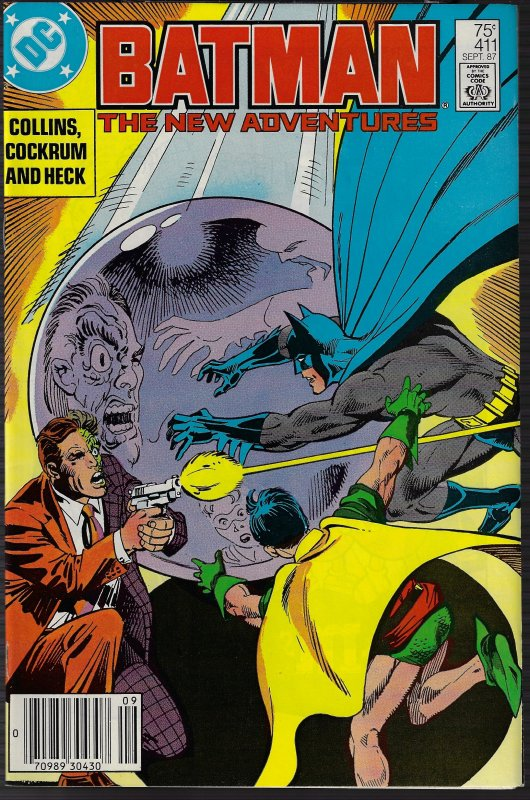 Batman #411 (DC, 1987) NM