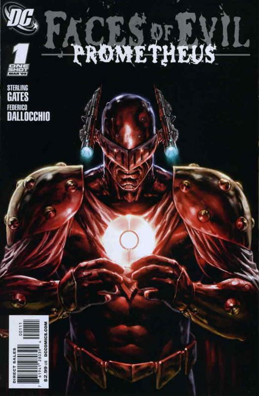 Faces of Evil: Prometheus #1 VF; DC | save on shipping - details inside