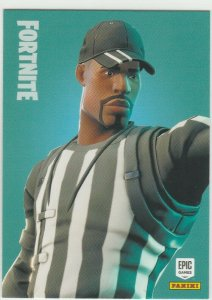 Fortnite Striped Soldier 143 Uncommon Outfit Panini 2019 trading card