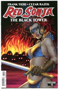RED SONJA Black Tower #3, NM-, She-Devil, Amanda Connor, 2014, more RS in store