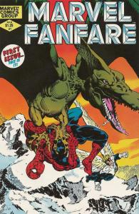 MARVEL FANFARE 1-60, 25-Different, MARVEL SUPER