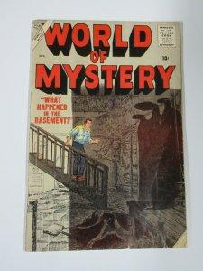 WORLD OF MYSTERY #7 (Marvel/Atlas July 1957) GOOD Gene Colan, Severin cover