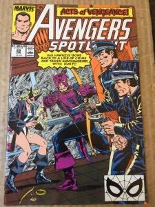 Avengers Spotlight #28 (1990)