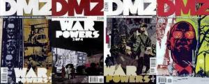 DMZ (2006 VERTIGO) 37-40  War Powers