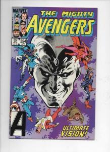 AVENGERS #254, VF/NM, Vision, Captain America, 1963 1985, more Marvel in store