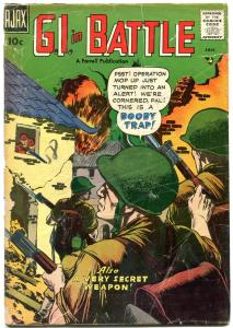 G I IN BATTLE #5 1958-AJAX COMICS- SNIPER COVER-KOREA VG