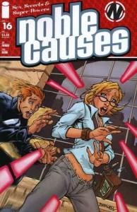 Noble Causes (2004 series) #16, NM + (Stock photo)