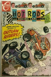 HOT RODS & RACING CARS#106 VG 1971 CHARLTON COMICS