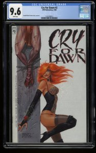 Cry for Dawn #2 CGC NM+ 9.6 White Pages