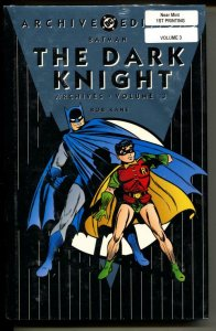Dark Knight Archives 3 hardcover- sealed