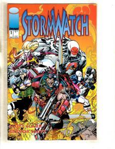 12 Image Comics Stormwatch 1 2 3 4 Tribe 1 Brigade 1 1 2 2 3 3 Swimsuit DJ2