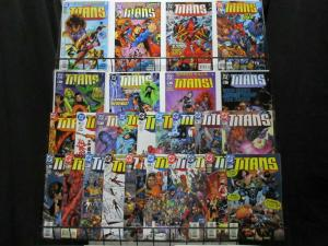 TITANS (1999) 1-50,Annual  the COMPLETE series!