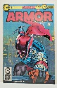 Armor #8  Continuity Comic (1990)
