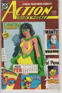 ACTION COMICS #636, VF/NM, Superman, DC, 1938, Phantom Lady, more in store