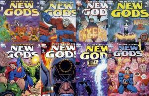 DEATH OF THE NEW GODS (2007) 1-8  Jim Starlin