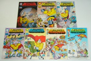 Sergio Aragones' Mighty Magnor #1-6 VF/NM complete series + pop-out variant