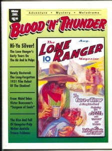 Blood 'n' Thunder-Winter 2005-Ed Hulse-Lone Ranger-Big Little Books-Weird Tales-