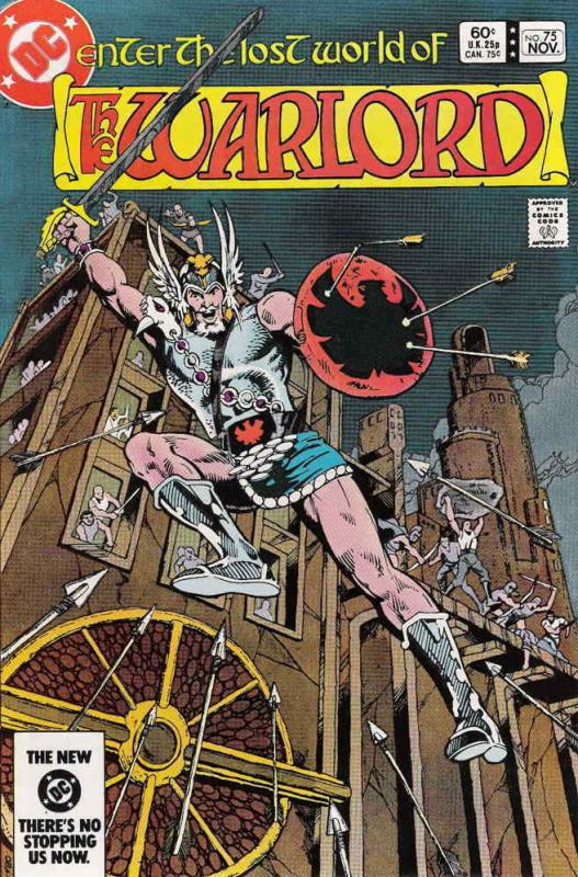 Warlord (DC) #75 VF/NM; DC | save on shipping - details inside