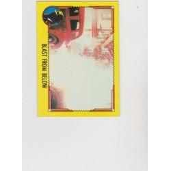 1990 Topps DICK TRACY-BLAST FROM BELOW #51