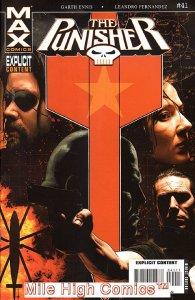 PUNISHER MAX (2004 Series) #41 Very Good Comics Book
